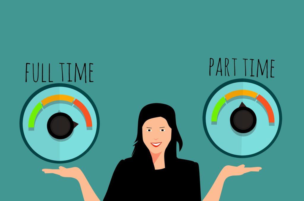 temps partiel heures supplémentaires