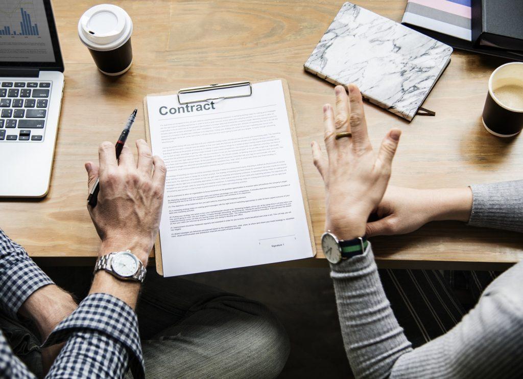 les conditions de validité d'un contrat