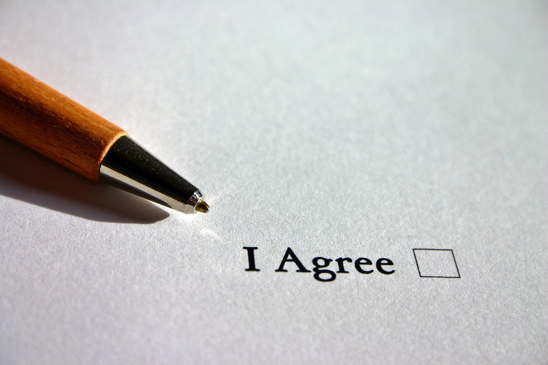 contrat négocié définitif